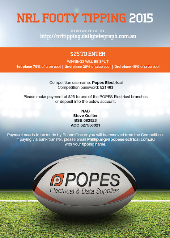 NRL Tipping Competition