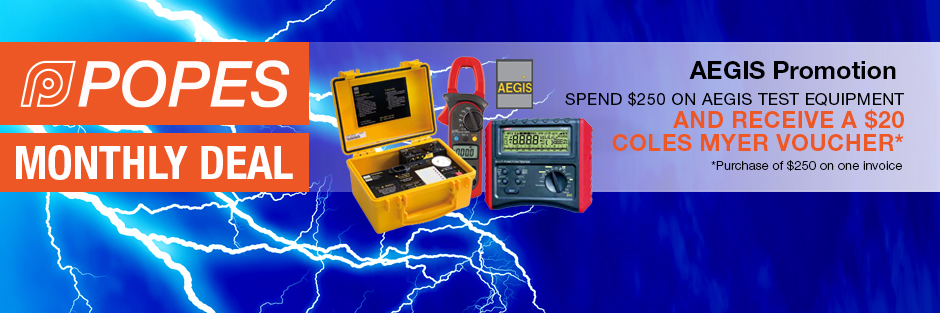 June Deal – Aegis Test Equipment
