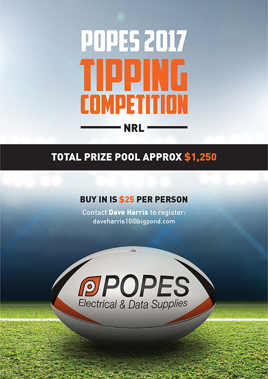 2017 Tipping Competition