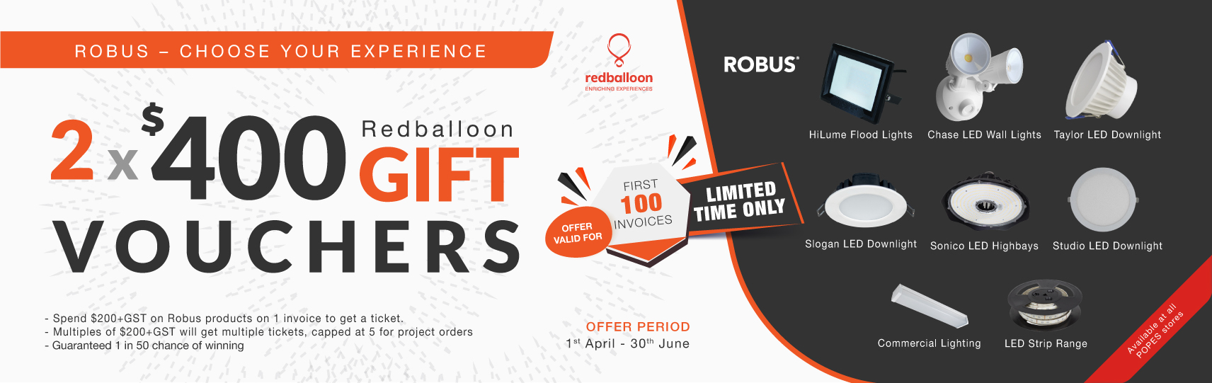 Robus Choose Your Experience